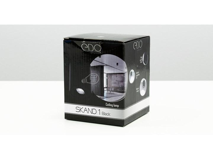 Punktowa oprawa sufitowa natynkowa SKAND 1 Black GU10 IP20 okrągła czarna EDO777100 EDO Okrągłe Kolor Czarny Oprawa stropowa Kategoria Oprawy oświetleniowe
