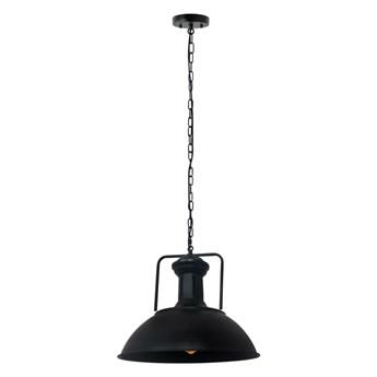 Lampa wisząca LOFT GRAVIS E27 czarna łańcuch 1m EDO777185 EDO