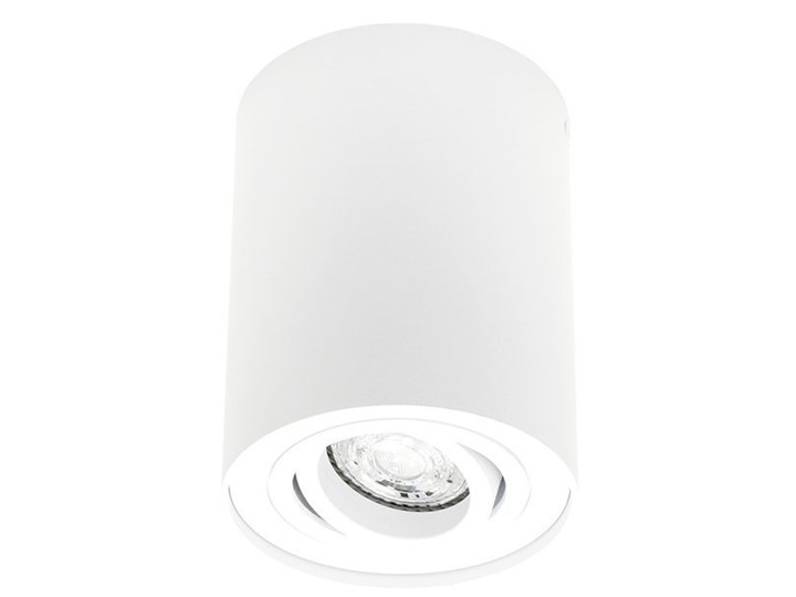 Punktowa oprawa sufitowa natynkowa do LED SKAND 1 White GU10 IP20 okrągła biała EDO777101 EDO Oprawa stropowa Kolor Biały Oprawa led Okrągłe Kategoria Oprawy oświetleniowe