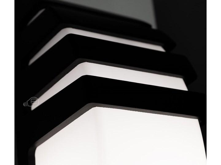 Ogrodowa oprawa elewacyjna kinkiet ZOFIN E27 IP54 czarny EDO777354 EDO Garden Line Kinkiet ogrodowy Lampa LED Kategoria Lampy ogrodowe Kolor Biały