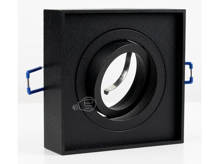 Punktowa oprawa sufitowa wpuszczana PALLAD 1 MINI Black IP20 kwadratowa czarna EDO777125 EDO Oprawa wpuszczana Kwadratowe Oprawa stropowa Kolor Czarny