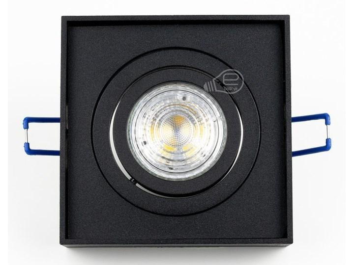 Punktowa oprawa sufitowa wpuszczana PALLAD 1 MINI Black IP20 kwadratowa czarna EDO777125 EDO Oprawa stropowa Kwadratowe Oprawa wpuszczana Kolor Czarny Kategoria Oprawy oświetleniowe
