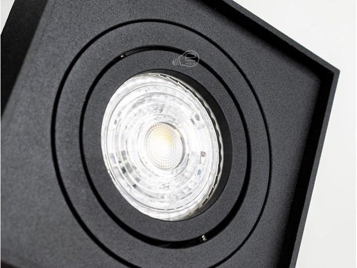 Punktowa oprawa sufitowa wpuszczana PALLAD 1 MINI Black IP20 kwadratowa czarna EDO777125 EDO Kolor Czarny Kwadratowe Oprawa stropowa Oprawa wpuszczana Kategoria Oprawy oświetleniowe