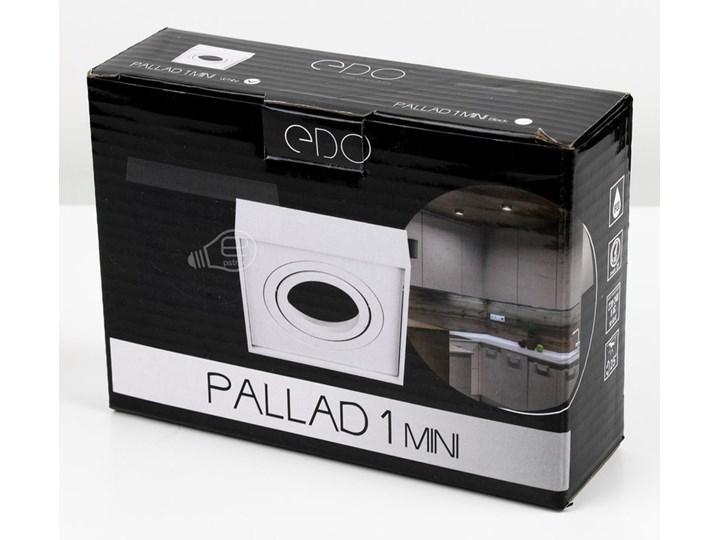 Punktowa oprawa sufitowa wpuszczana PALLAD 1 MINI Black IP20 kwadratowa czarna EDO777125 EDO Kwadratowe Oprawa stropowa Oprawa wpuszczana Kolor Czarny