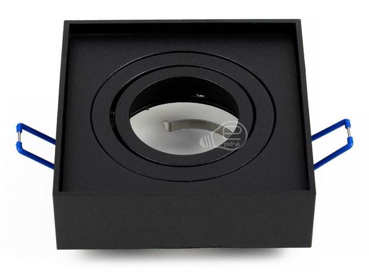 Punktowa oprawa sufitowa wpuszczana PALLAD 1 MINI Black IP20 kwadratowa czarna EDO777125 EDO Oprawa wpuszczana Kwadratowe Oprawa stropowa Kolor Czarny Kategoria Oprawy oświetleniowe