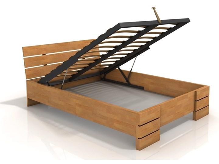 łóżko Bukowe Sandemo High Bc Skrzynia Na Pościel Materac