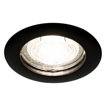 Punktowa oprawa sufitowa wpuszczana ZIVA Black IP20 okrągła czarna EDO777308 EDO