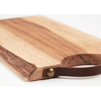 Deska do serwowania Severa prostokątna z litego drewna akacjowego