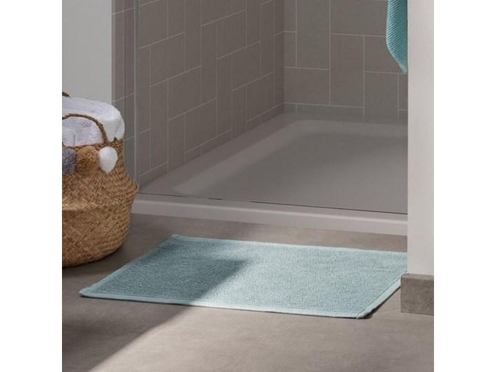 Dywanik łazienkowy Miekki 60x40 cm jasnoturkusowy Prostokątny Bawełna 40x60 cm Kategoria Dywaniki łazienkowe