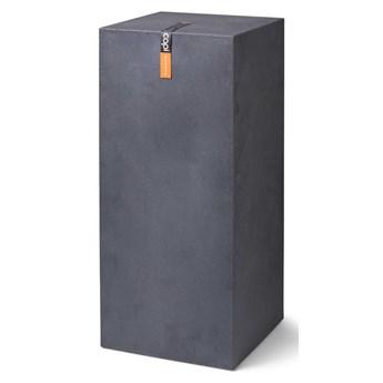 Capi Kolumna pod donicę Urban Smooth, 36x79 cm, ciemnoszara