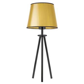 Złota lampka nocna z abażurem - EX925-Bergec
