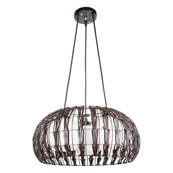 Lampa z rattanu do salonu E349-Atom