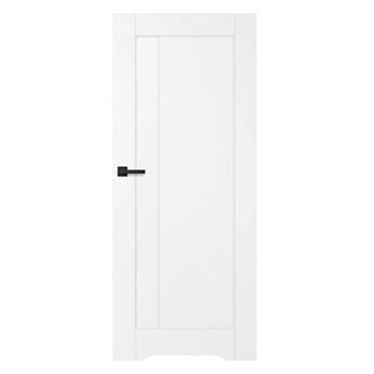 Drzwi z podcięciem Fado Pełny 70 prawe białe