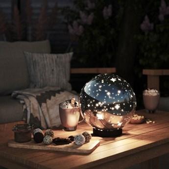 Lampa napięciowa Blooma Penia 3000 K IP44 srebrna