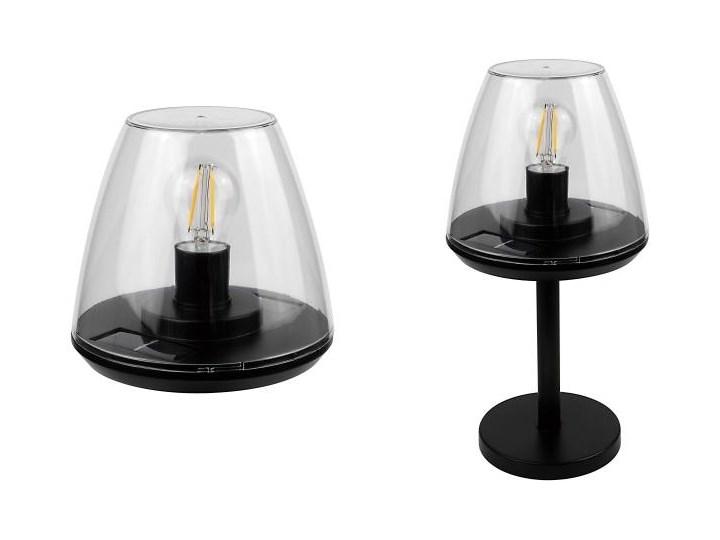 Lampa solarna stołowa Loano 2 w 1 3000 K IP44 Kolor Przezroczysty Kategoria Lampy ogrodowe