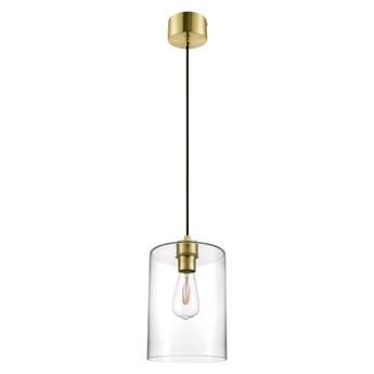 Lampa wisząca GoodHome Wutai 1-punktowa E27 złota