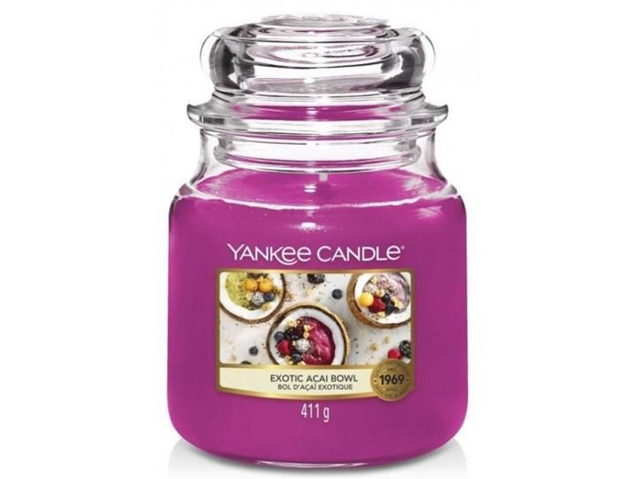 Słoik średni Yankee Candle Exotic Acai Bowl Słoik średni 411g Świeca zapachowa Świeca Kategoria Świeczniki i świece