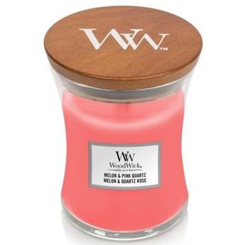 Świeczka średnia WoodWick Chilli Melon & Pink Quartz 275g