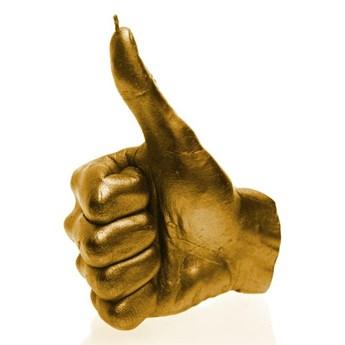 Świeca świeczka dłoń OK 30h Hand OK