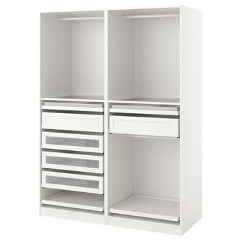 IKEA PAX Kombinacja szafy, biały, 150x58x201 cm