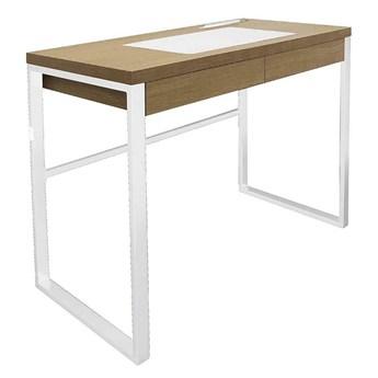 Skandynawskie biurko Arso - białe