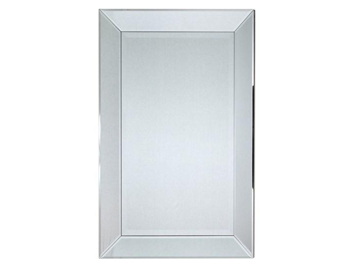 Minimalistyczne lustro w lustrzanej ramie 60x90 13tm127s outlet Ścienne Prostokątne Lustro z ramą Pomieszczenie Salon