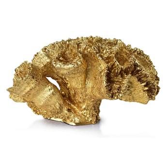 SAMOA CORAL GOLD Figura  17x13x10cm