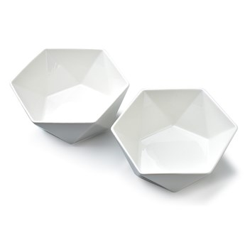 RALPH WHITE Kpl.2 miseczek 15.5cm x 17c x h7cm poj. 750ml