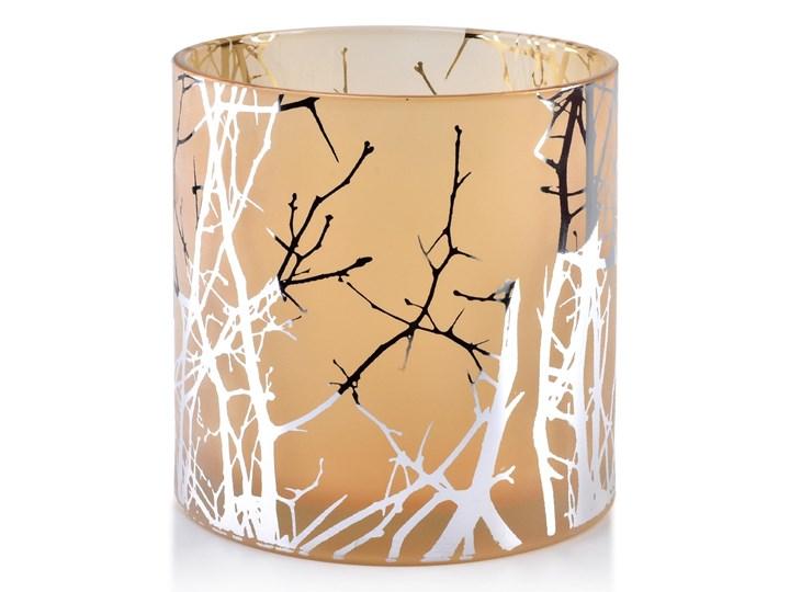 ODETTE SILVER Świecznik 15xh15cm Szkło Lampion Kategoria Świeczniki i świece