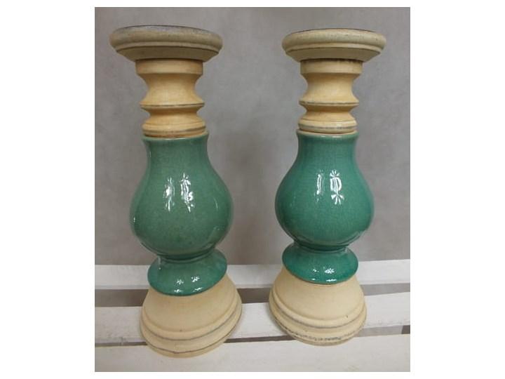 Świecznik Old Turkus Ceramika Kategoria Świeczniki i świece