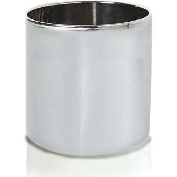 Doniczka srebrna cylinder Moon