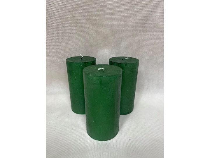 Świeca butelkowa zieleń