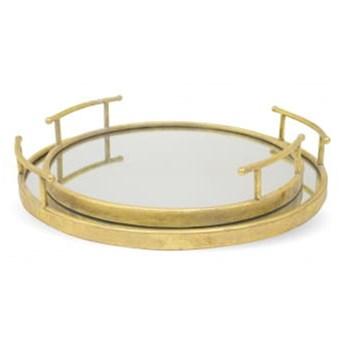 Taca złota z lustrem II