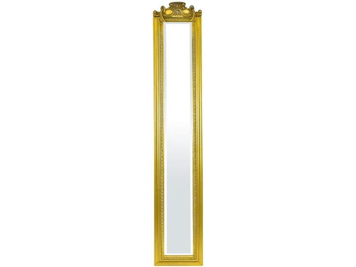 Lustro gold Kategoria Lustra Prostokątne Lustro z ramą Ścienne Pomieszczenie Sypialnia