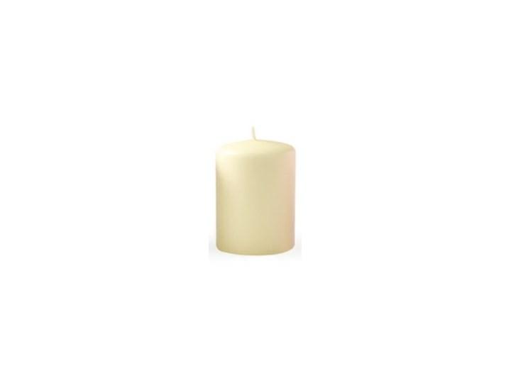 Świeca CLASSIC CANDLES Walec XL 8xh20cm kremowa Kolor Beżowy Kategoria Świeczniki i świece