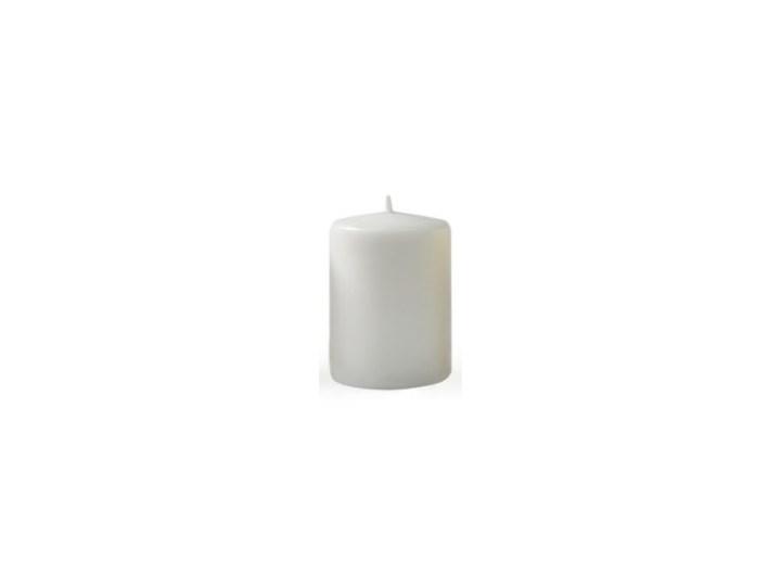 Świeca CLASSIC CANDLES Walec XL 8xh20cm szara Kategoria Świeczniki i świece Kolor Biały
