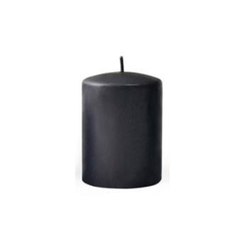 Świeca CLASSIC CANDLES Walec XL 8xh20cm czarny