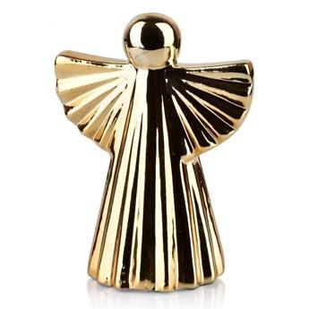 ANGEL Figura 8x5,4xh10,7cm złota