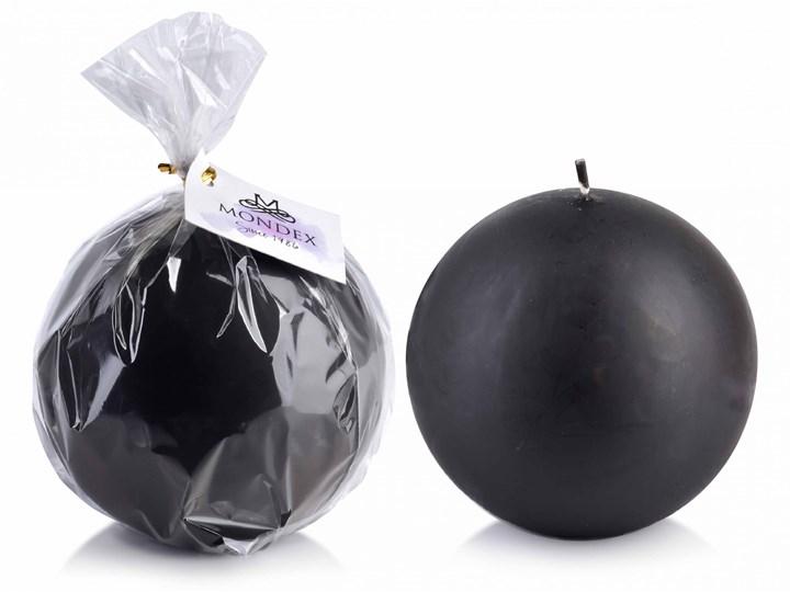 Świeca CLASSIC CANDLES Kula 12cm  czarna