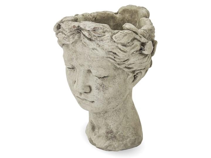 Donica głowa cement szara Kategoria Doniczki i kwietniki Doniczka na kwiaty Osłonka na doniczkę Kolor Beżowy