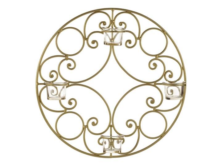 Świecznik wiszący FIELD złoty - L_Aluro
