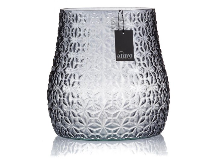 Lampion szklany- ABITO art-deco ornament_Aluro Szkło Kategoria Świeczniki i świece