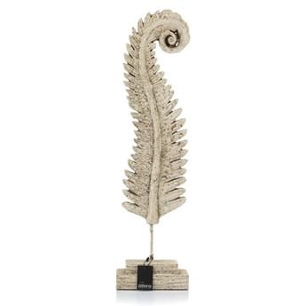 Rzeźba CALEA -liść paproci na podstawie_Aluro