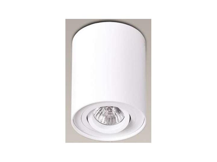 Downlight LAMPA sufitowa BASIC ROUND C0067 Maxlight metalowa OPRAWA tuba SPOT biała Oprawa stropowa Okrągłe Oprawa led Kolor Biały
