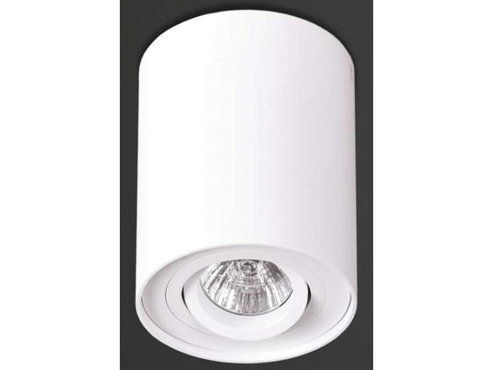 Downlight LAMPA sufitowa BASIC ROUND C0067 Maxlight metalowa OPRAWA tuba SPOT biała Oprawa led Okrągłe Oprawa stropowa Kolor Biały