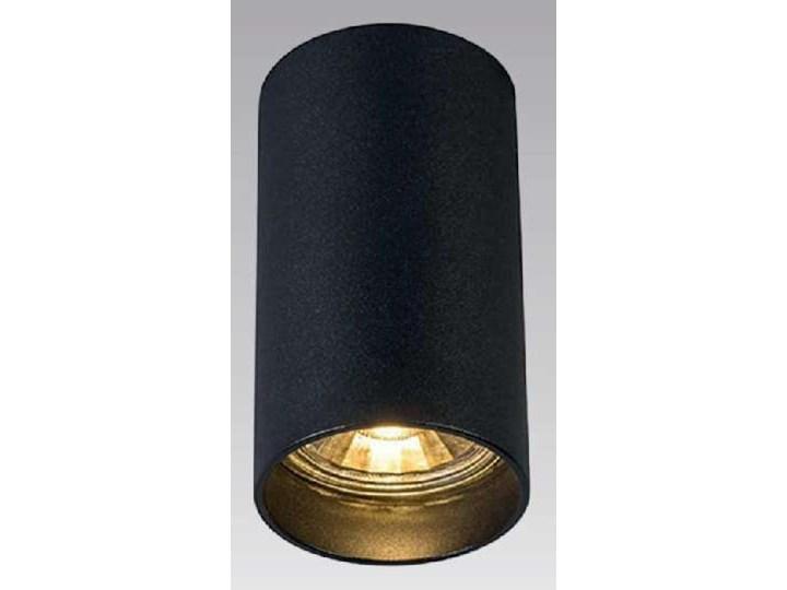 Downlight LAMPA sufitowa TUBA 92680 Zumaline tuba OPRAWA metalowa czarna Kolor Czarny Oprawa stropowa Oprawa led Okrągłe Kategoria Oprawy oświetleniowe
