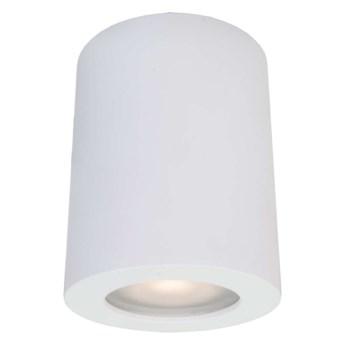 Downlight LAMPA sufitowa FAUSTO IT8005R1-BK Italux metalowa OPRAWA tuba do łazienki IP44 czarna