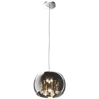 Dekoracyjna LAMPA wisząca CRYSTAL P0076-03E-F4FZ Zumaline OPRAWA lustrzana glamour kryształki sople łezki chrom