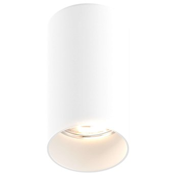 Downlight LAMPA sufitowa TUBA 92680 Zumaline tuba OPRAWA metalowa czarna