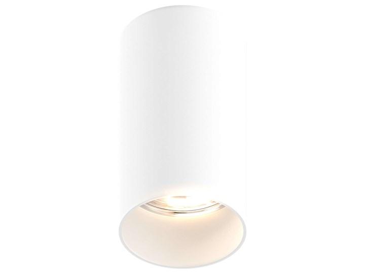 Downlight LAMPA sufitowa TUBA 92680 Zumaline tuba OPRAWA metalowa czarna Kolor Czarny Okrągłe Oprawa stropowa Oprawa led Kategoria Oprawy oświetleniowe